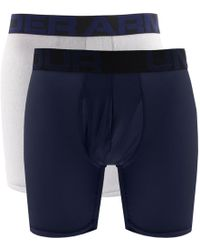 Under Armour - Boxerjock 2 Pack Boxer Briefs Blue - Lyst