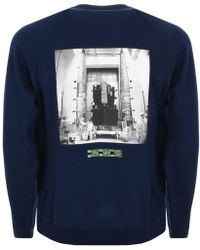 BBCICECREAM - Billionaire Boys Club Technician Sweatshirt Navy - Lyst