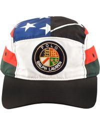 Ralph Lauren - Classic Ski Baseball Cap Black - Lyst