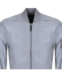 Alpha Industries - Ma 1 Reflective Jacket Grey - Lyst