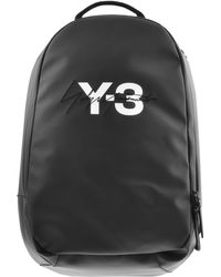 Y-3 - Logo Backpack Black - Lyst