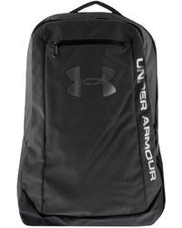 Under Armour - Hustle Backpack Bag Black - Lyst