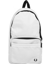 Fred Perry - Twin Tipped Backpack White - Lyst