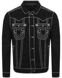 True Religion Jimmy Denim Jacket Black