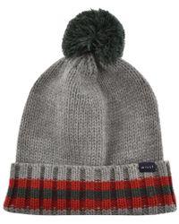 Jack Wills - Sambourne Knit Bobble Hat Grey - Lyst