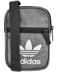 Adidas Originals Trefoil Festival Organiser Bag in Blue for Men - Lyst 77c5bb5061c58
