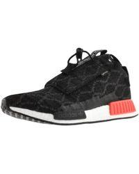 ebb02a584 Lyst - adidas Originals Black Nmd-ts1 Pk Gore-tex® Sneakers in Black ...