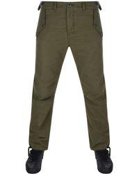 Pretty Green - Grosvenor Trousers Khaki - Lyst