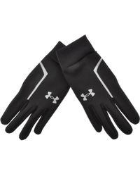Under Armour - Cgi Run Liner Gloves Black - Lyst