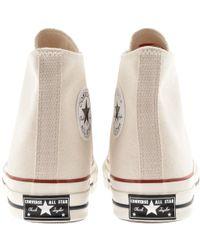 7f9cbe274dd1e7 Lyst - Converse Chuck Taylor All Star Denim Woven Cream for Men