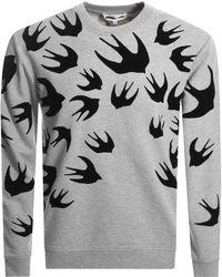 McQ - Swallow Sweatshirt Grey - Lyst