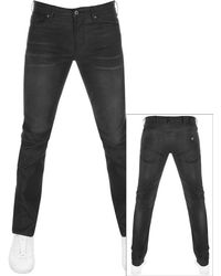 Armani Emporio J06 Slim Fit Jeans Black