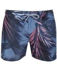Ted Baker - Raynebo Swim Shorts Green - Lyst