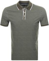 Ted Baker - Marsmal Polo T Shirt Khaki - Lyst