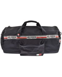 Tommy Hilfiger - Sports Tape Duffle Bag Navy - Lyst
