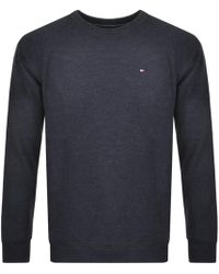 Tommy Hilfiger - Icon Sweatshirt Navy - Lyst