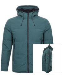 Jack Wills - Embleton Lightweight Down Jacket Green - Lyst