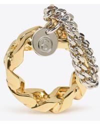 MM6 by Maison Martin Margiela - Chain Ring - Lyst