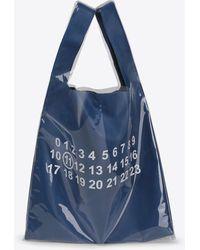 Maison Margiela - Shopper aus Leder mit PVC-Beschichtung - Lyst