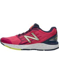 New Balance - W680 V5 Neutral Running Shoes Pink - Lyst