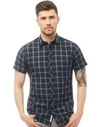 Jack & Jones - Brand Short Sleeve Shirt Sky Captain - Lyst