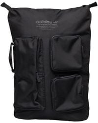 9b815d873 adidas Nmd Top Zip Backpack in Black for Men - Lyst