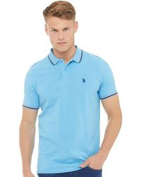 U.S. POLO ASSN. - Jay Polo Ethereal Blue - Lyst