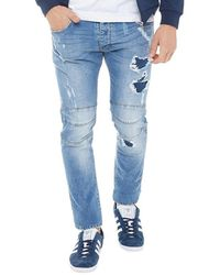883 Police - Moriarty Nap 457 Slim Stretch Jeans - Lyst