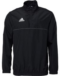 adidas - Core 15 Windbreaker Black/white - Lyst