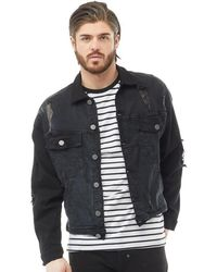 883 Police - Nord Denim Jacket Black Wash - Lyst
