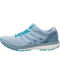adidas - Adizero Boston Boost 6 Lightweight Neutral Running Shoes Easy Blue/tactile Blue/energy Blue - Lyst