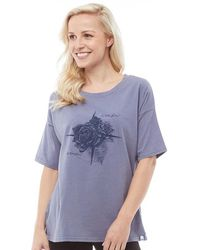 Animal - Navigated Deluxe Graphic T-shirt Grisaille Blue - Lyst