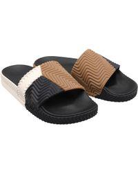 adidas Originals - X Alexander Wang Adilette Sandals Core Black/chalk White/core Black - Lyst