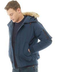 Levi's - Down Davidson Bomber Jacket Dress Blue - Lyst