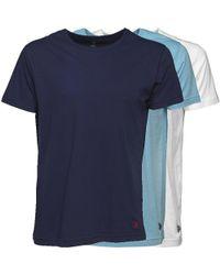 U.S. POLO ASSN. Three Pack T-shirts Multi - Blue