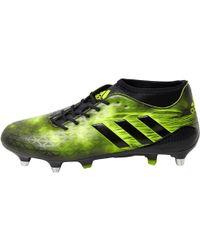 adidas - Adizero Malice Sg Rugby Boots Core Black/yellow - Lyst