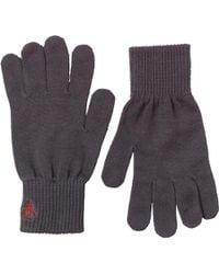 Original Penguin - Rib Gloves Phantom/red - Lyst