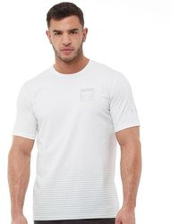 Under Armour - Hg Heatgear X Project Rock Top White - Lyst