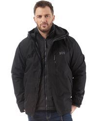 Helly Hansen - Squamish Cis 3 In 1 Jacket Black - Lyst
