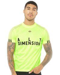 adidas Originals - X Alexander Wang Soccer Jersey Solar Yellow/black - Lyst