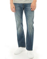 Levi's - 527 Slim Bootcut Jeans Mostly Mid Blue - Lyst