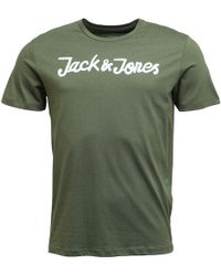 Jack & Jones - Traffic T-shirt Thyme - Lyst