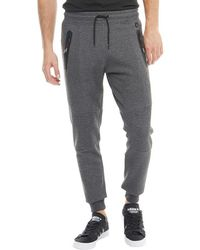 Duck and Cover - Hamilton Double Faced Joggers Charcoal Marl - Lyst