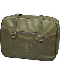 adidas Originals - Airliner Sport Bag Olive Cargo - Lyst