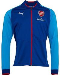 1fbab05da PUMA Afc Arsenal Vent Thermo Dwr Windcell Stadium Jacket Ebony ...