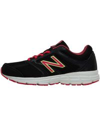 New Balance - W460 V2 Neutral Running Shoes Black/pink - Lyst