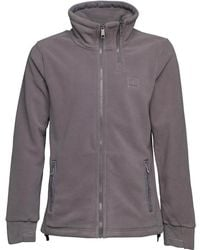 Bench   Her Funnel Sweat Grey   Lyst