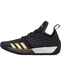 4173daa48c1 adidas - Harden Vol 2 Basketball Trainers Core Black utility Black gold  Metallic -
