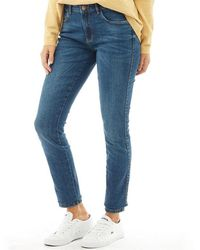 ONLY - Boom Skinny Jeans Dark Blue Denim - Lyst
