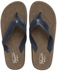Original Penguin - Delta Sandals Navy - Lyst